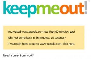 Keepmeout.com vous aide à lutter contre vos dépendances